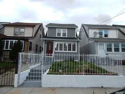 Queens Village Single Family Home For Sale: 90-51 208th St