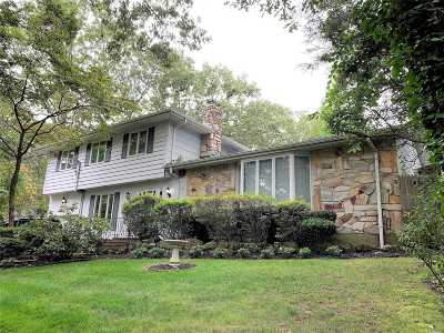 Smithtown Single Family Home For Sale: 8 Hazel Dr