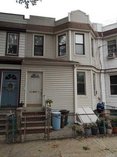 Middle Village Multi Family Home For Sale: 6519 79 St