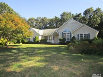 Middle Island Single Family Home For Sale: 8 Sander Ct