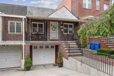 Middle Village Single Family Home For Sale: 69-10 Penelope Avenue