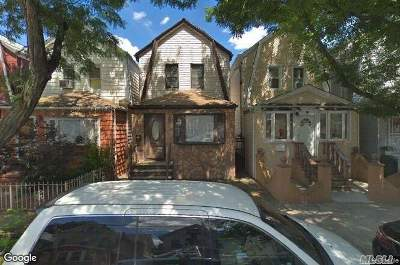 Woodhaven Single Family Home For Sale: 89-15 86th St