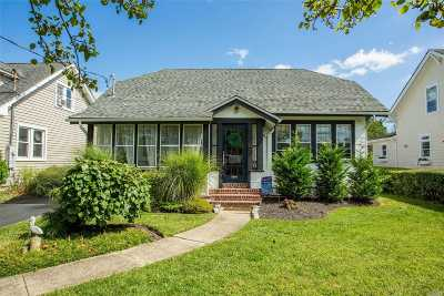 Amityville Single Family Home For Sale: 18 S Bay Ave
