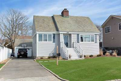 Amityville Single Family Home For Sale: 146 Riverside Ave