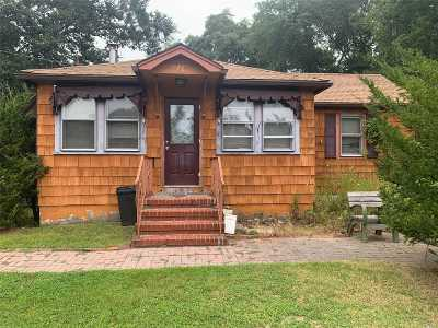 Mastic Single Family Home For Sale: 76 Riviera Dr