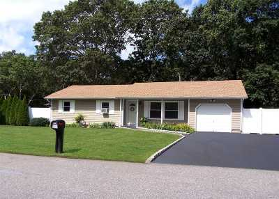 Mastic Single Family Home For Sale: 1 Kameo Dr