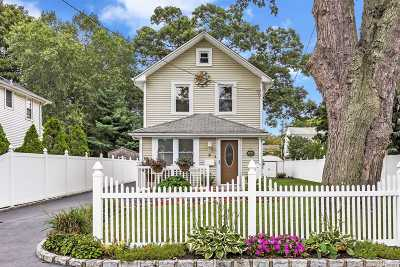 Sayville Single Family Home For Sale: 9 Roosevelt Ave