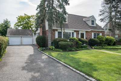 Wantagh Single Family Home For Sale: 1611 Beech St