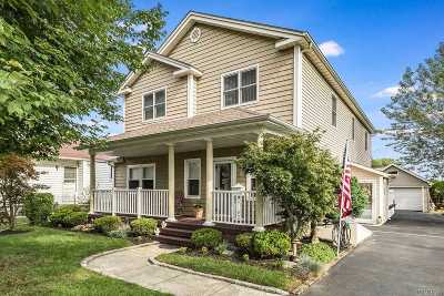 Bethpage Single Family Home For Sale: 51 Cherry Ave