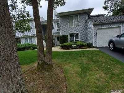 Manorville Condo/Townhouse For Sale: 43 Lakeview Dr #43