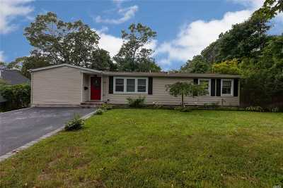 Ronkonkoma Single Family Home For Sale: 54 W 2nd St