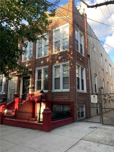 Brooklyn Multi Family Home For Sale: 587 Miller Ave