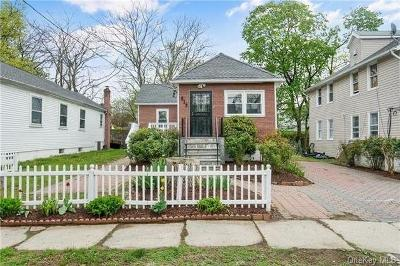 Westchester County Single Family Home For Sale: 815 Howard Avenue