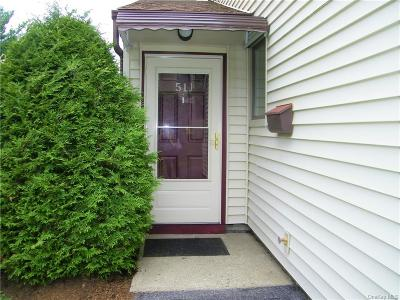Westchester County Condo/Townhouse For Sale: 51 Jefferson Oval #J