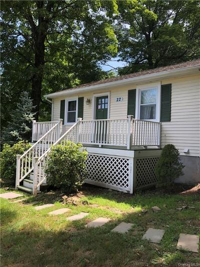 Dutchess County Single Family Home For Sale: 22 Lakeview Drive