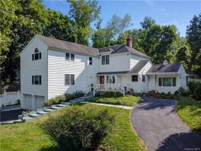 Westchester County Single Family Home For Sale: 609 Kitchawan Road