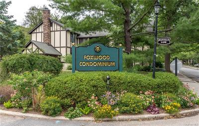 Westchester County Condo/Townhouse For Sale: 4 Foxwood Drive #3