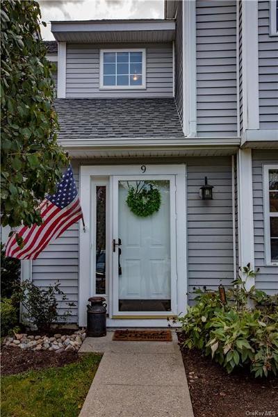 Dutchess County Condo/Townhouse For Sale: 9 Aspen #9