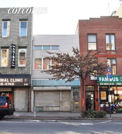 Williamsburg Building For Sale For Sale: 514 Grand St