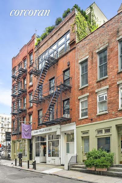 New York Building For Sale For Sale: 7 Centre Market Pl