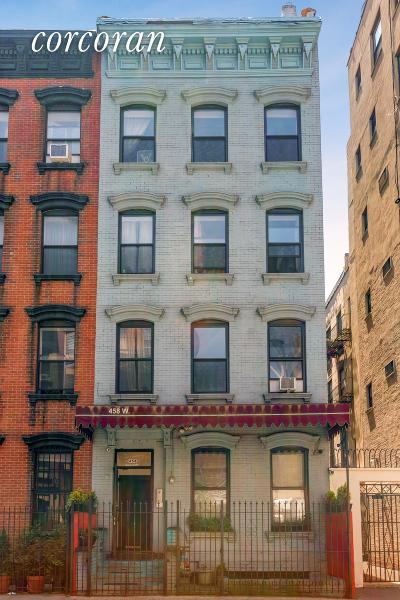 New York Building For Sale For Sale: 458 W 50th St