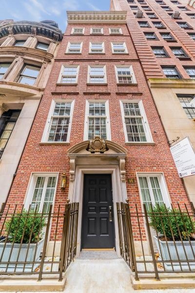 New York Building For Sale For Sale: 46 E 66th St