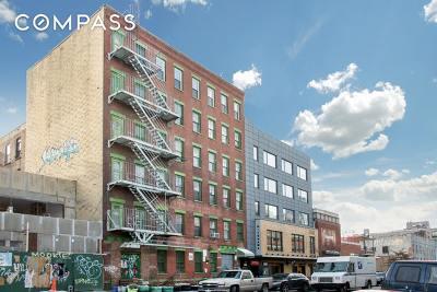 Williamsburg Building For Sale For Sale: 140 Metropolitan Ave