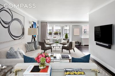 New York NY Unit For Sale For Sale: $3,395,000
