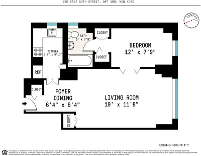 New York Unit For Sale For Sale: 220 E 57th St