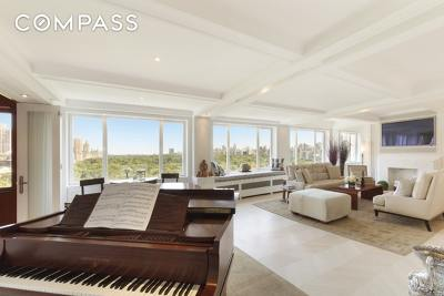 New York Unit For Sale For Sale: 230 Central Park S