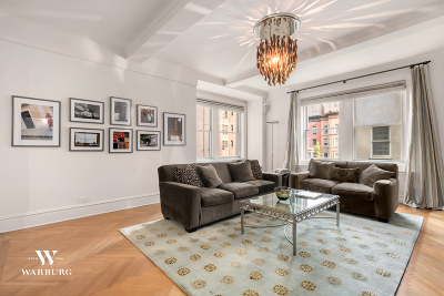 New York Unit For Sale For Sale: 91 Central Park W