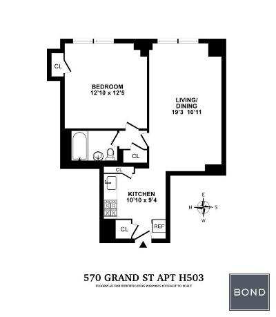New York Unit For Sale For Sale: 570 Grand St