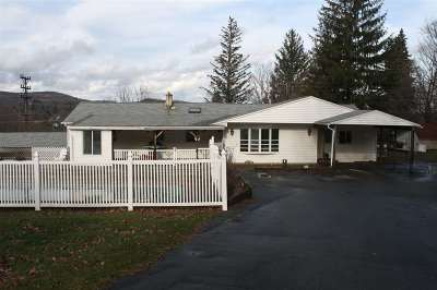 Liberty NY Single Family Home For Sale: $69,000