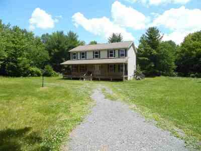 Thompsonville Single Family Home For Sale: 500 Thompson Rd