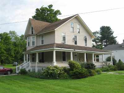 Youngsville, Jeffersonville, Callicoon Multi Family Home For Sale: 3990 Route 52