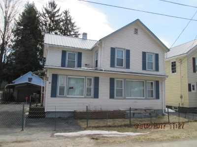 Roscoe NY Single Family Home For Sale: $70,000