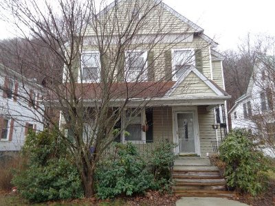 Port Jervis NY Single Family Home For Sale: $69,900
