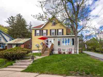 Jeffersonville Multi Family Home For Sale: 16 Center Street