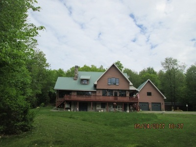 Livingston Manor, Roscoe Single Family Home For Sale: 373 Spring Brook Estates Rd