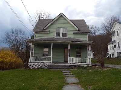 Callicoon Single Family Home For Sale: 63 Fremont