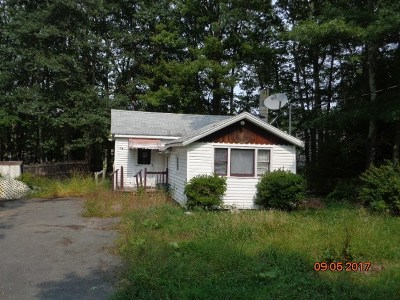 Wurtsboro NY Single Family Home For Sale: $20,000