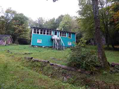 Parksville NY Single Family Home For Sale: $109,000