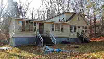 Single Family Home For Sale: 60 Haddock Rd