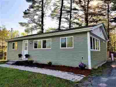 White Lake Single Family Home For Sale: 3428 State Route 55