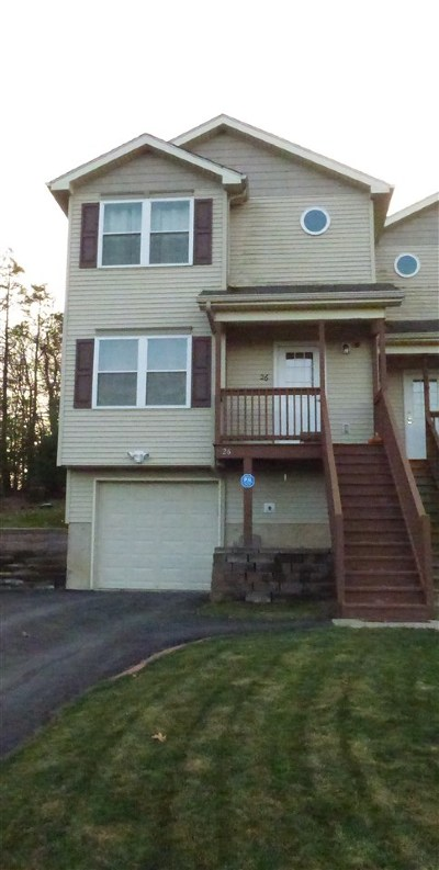 Rock Hill NY Townhouse For Sale: $240,000