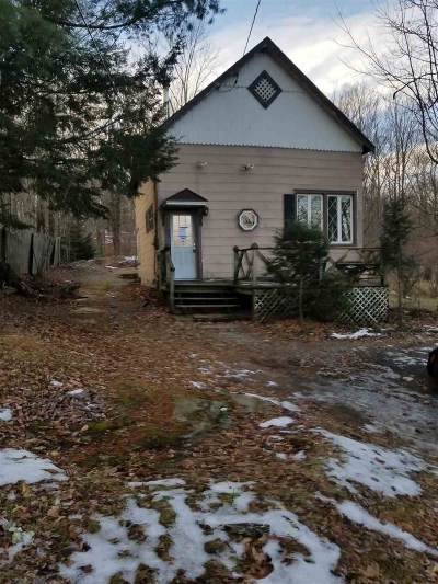 Woodridge NY Single Family Home For Sale: $79,000