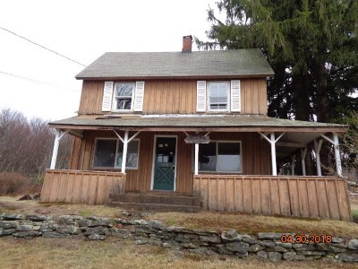 Liberty NY Single Family Home For Sale: $54,900