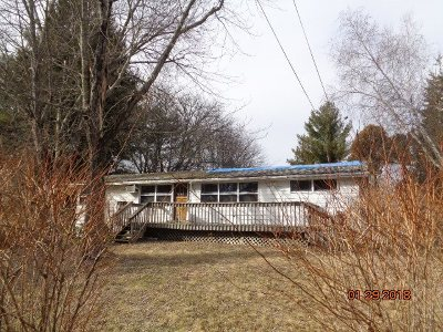 Mountaindale NY Single Family Home For Sale: $39,900