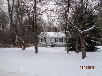 White Sulphur Springs NY Single Family Home For Sale: $44,900