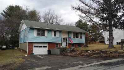 Monticello Village NY Single Family Home For Sale: $109,900